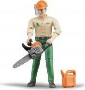 Bruder bworld Forstarbeiter mit Zubehör (60030)