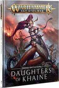 Games Workshop Warhammer Age of Sigmar - Battletome: Daughters of Khaine 2021 (DE) (04030212008)