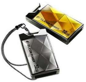 Silicon Power Touch 850 gold 2GB, USB-A 2.0 (SP002GBUF2850V1A)