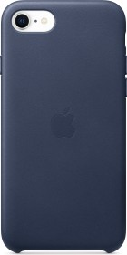 Apple Leder Case für iPhone SE (2020) mitternachtsblau (MXYN2ZM/A)