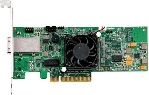 HighPoint RocketRAID 4311, PCIe x8