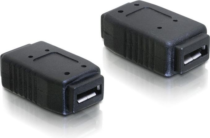 DeLOCK USB 2.0 Adapter, micro-B [Buchse] auf micro-B [Buchse] (65034)
