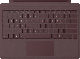 Microsoft Surface Pro signature Type Cover, Bordeaux red, IT, Business (FFQ-00050)