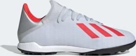 adidas X 19.3 TF silver met./hi-res red/ftwr white (Herren) (F35374)