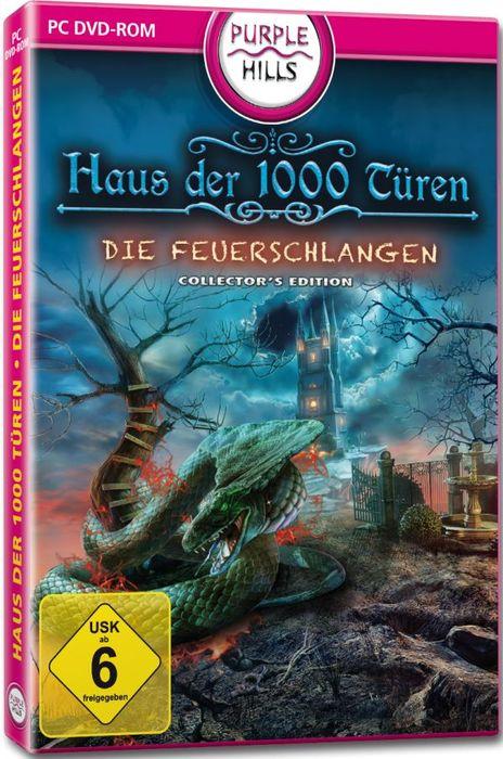 Haus der 1000 Türen: Feuerschlangen - Sammleredition (niemiecki) (PC)