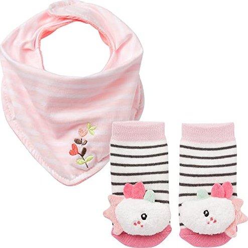 BabyFehn U-Heft-H/ülle Eule /& Rassels/öckchen Eule //// 2er Set //// Sleeping Forest Collection //// Lebhafte Farben und Materialien ////