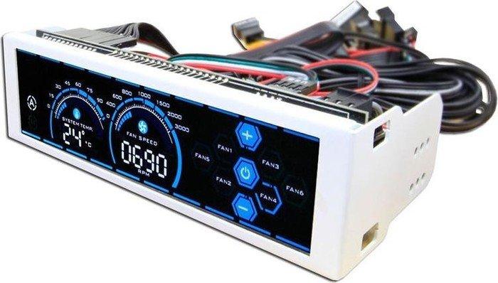 """LC-Power LC-CFC-3, Lüftersteuerung 5.25"""" 6-Kanal"""