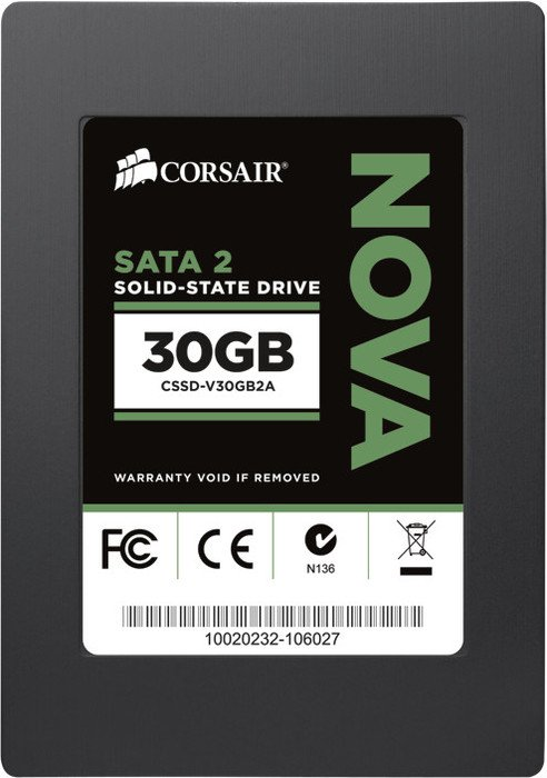 "Corsair Nova 2 Series 30GB, 2.5"", SATA II (CSSD-V30GB2A)"