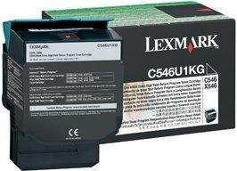 Lexmark Return Toner C546U1KG black very high capacity