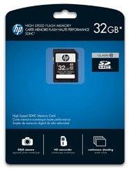 PNY HP branded SDHC 32GB, Class 10 (SD32GBHC10HP-EF)