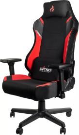 Nitro Concepts X1000 Gamingstuhl, schwarz/rot (NC-X1000-BR)