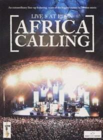 Africa Calling - Live 8 At Eden (DVD)
