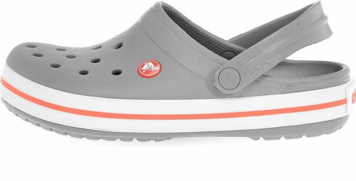 check out afd2b a9e27 Crocs Crocband light grey/bright coral (Damen) (11016-0FL) ab € 24,05