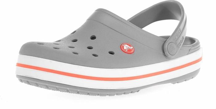 check out ceea9 e7c3c Crocs Crocband light grey/bright coral (Damen) (11016-0FL) ab € 24,05