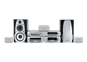 Technics SC-DV290 with 5-way DVD/CD, tuner, Tape silver