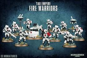 Games Workshop Warhammer 40.000 - T'au-Empire - Fire Warriors Strike Team (99120113057)
