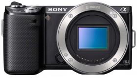 Sony Alpha NEX-5N schwarz Gehäuse (NEX-5NB)