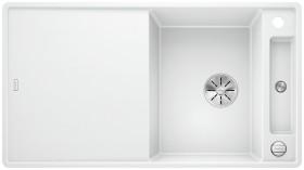 Blanco Axia III 5 S-F InFino white incl. glass cutting board (523234)