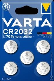 Varta CR2032, 5er-Pack (6032-101-415)