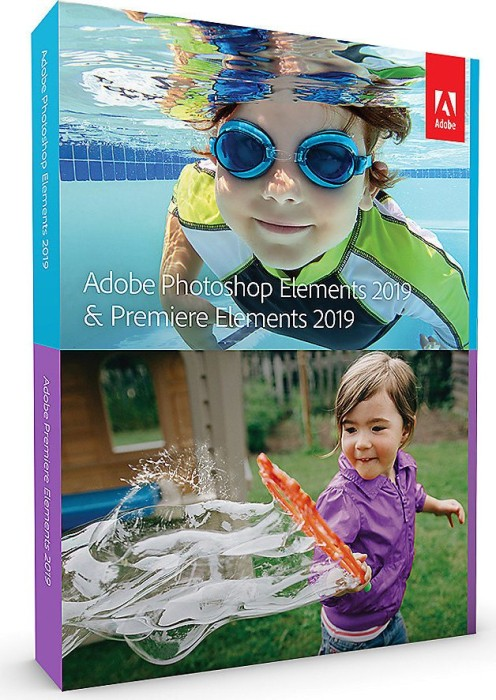 Adobe Photoshop Elements 2019 and Premiere Elements 2019 (German) (PC/MAC) (65292100)