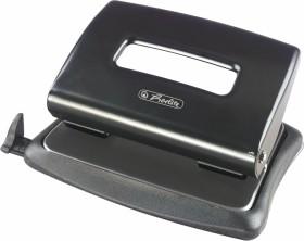 Herlitz Bürolocher 1.6mm mit Anschlagschiene, schwarz (1610492)