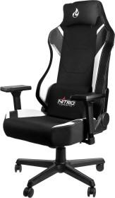 Nitro Concepts X1000 Gamingstuhl, schwarz/weiß (NC-X1000-BW)