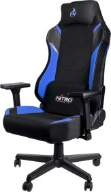 Nitro Concepts X1000 Gamingstuhl, schwarz/blau (NC-X1000-BB)