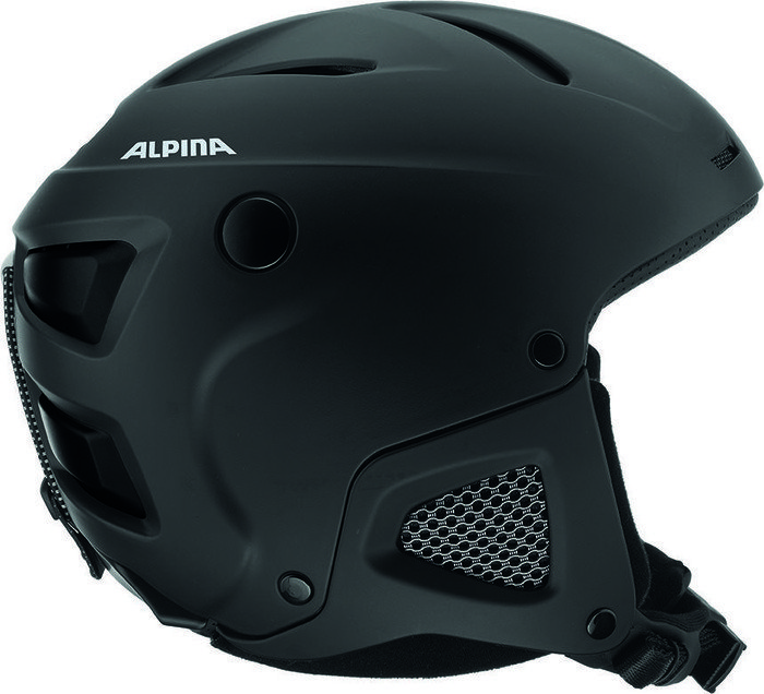 Alpina Attelas Helmet Black Matte AX Starting From - Alpina helmets