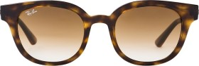Ray-Ban RB4324 50mm tortoise/light brown gradient (RB4324-710/51)