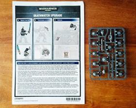 Games Workshop Warhammer 40.000 - Upgrades: Deathwatch (99070109001)