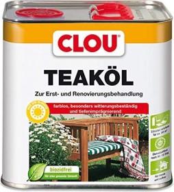 CLOU Teak-Öl Holzschutzmittel farblos, 2.5l