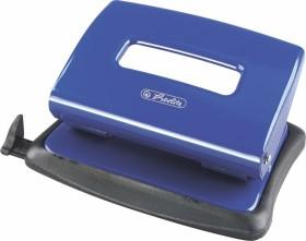Herlitz Bürolocher 1.6mm mit Anschlagschiene, blau (1610450)
