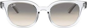 Ray-Ban RB4324 50mm transparent/light grey gradient (RB4324-644732)