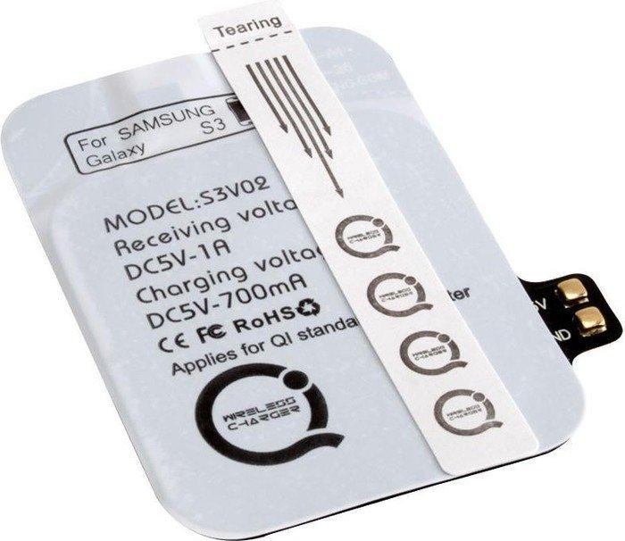 Ansmann Qi Receiver für Samsung Galaxy S3 (1700-0031)