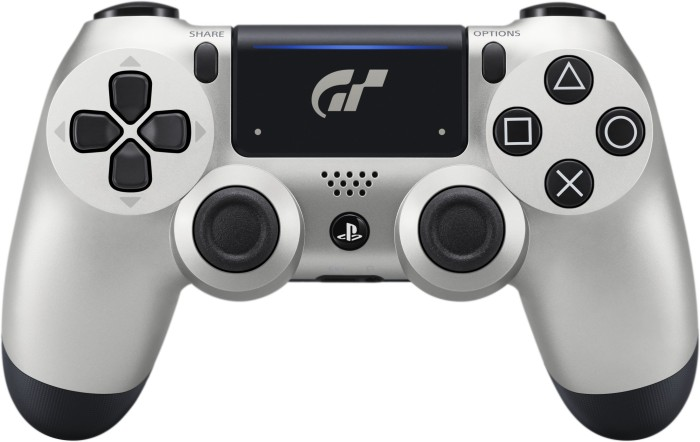 Sony DualShock 4 2.0 Controller wireless GT Sport Limited Edition silber (PS4)