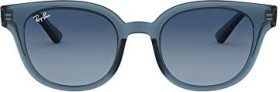 Ray-Ban RB4324 50mm blue-transparent/azure-blue gradient (RB4324-6448Q8)