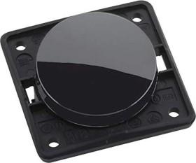 Berker Integro FLOW Taster/Schließer, schwarz glänzend (936712510)