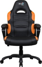 AeroCool AC80C AIR Gamingstuhl, schwarz/orange (AC80CAIR-BO)