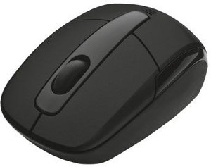 Trust Eqido Wireless Mini Mouse schwarz, USB (16343)