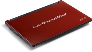Acer Aspire One D255 red, Atom N450, 250GB HDD, UK (LU.SDQ0D.002)