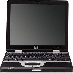 HP nc8000, Pentium-M 1.40GHz, 256MB RAM, 40GB HDD (DJ332)