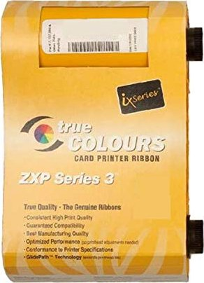 Zebra ZXP 3 Monochrom Farbband 800033-802 rot -- via Amazon Partnerprogramm
