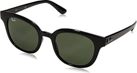 Ray-Ban RB4324 50mm black/green classic (RB4324-601/31)