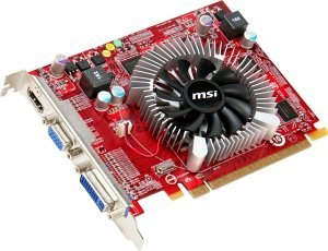 MSI VR5570-MD1G, Radeon HD 5570, 1GB DDR2, VGA, DVI, HDMI (V807-002R)