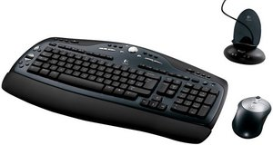 Logitech Cordless desktop LX 700, PS/2 & USB, DE (967418-0102)