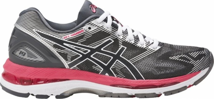 Asics Gel-Nimbus 19 carbon/rouge red/white (Damen) (T750N-9719)
