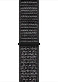 Apple Sport Loop Regular für Apple Watch 44mm schwarz (MTM72ZM/A)