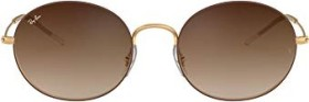 Ray-Ban RB3594 Beat 53mm brown-gold/brown gradient mirror (RB3594-9115S0)