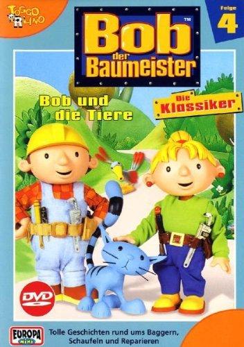 Bob der Baumeister Vol. 4: Bob und die Tiere -- via Amazon Partnerprogramm