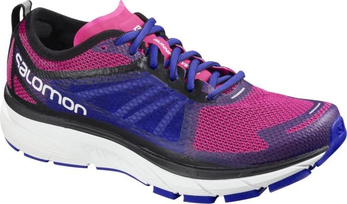 Damen Sonic Ra W Traillaufschuhe, Pink (Pink Yarrow/Surf The Web/White 000), 40 2/3 EU Salomon